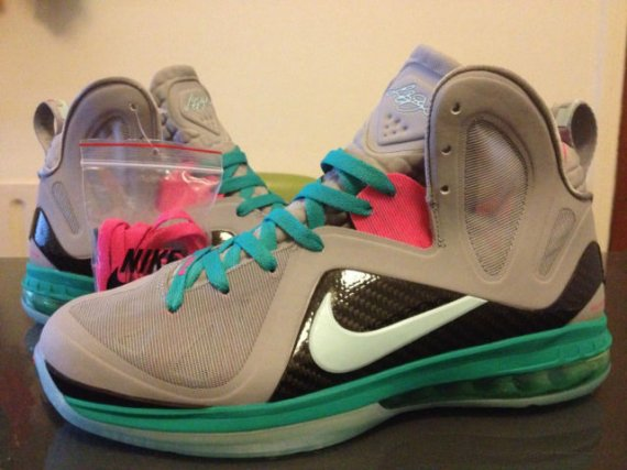 huge selection of 0c841 bb2cd The South Beach Nike LeBron 9 Elite is planned for release this June. If  you d like to get ahead of the game and get these early, this size 11 pair  is ...