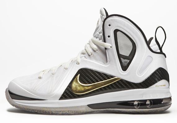 Nike LeBron 9 P.S. Elite Color  Black Metallic Gold-Black Style  516956-     Release  04 28 12. Price   250.00 330bfa52c617