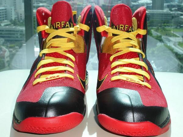 new style a4415 6eefa Nike Lebron Freegums OG IX 9 Black White Red Size 9