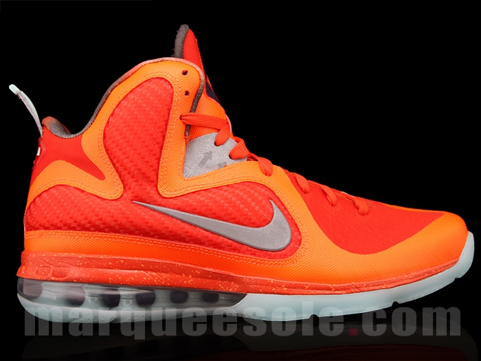 huge discount ceba2 bbfa4 USED MENS NIKE AIR Lebron 9 IX AS ALL STAR BIG BANG GALAXY 520811 800 SZ 10  FREE