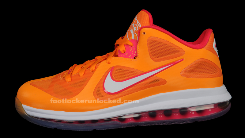 new arrivals 17124 4b792 A hot pink Max Air unit follows the theme. The Nike LeBron 9 Low Floridian  was released yesterday and sold fairly well, but you should be able find  them in ...