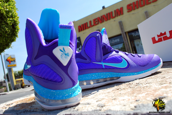 "best sneakers 60afc e70af Nike Air Max Lebron IX 9 ""Summit Lake Hornets"" Men s Size 13 WORN"
