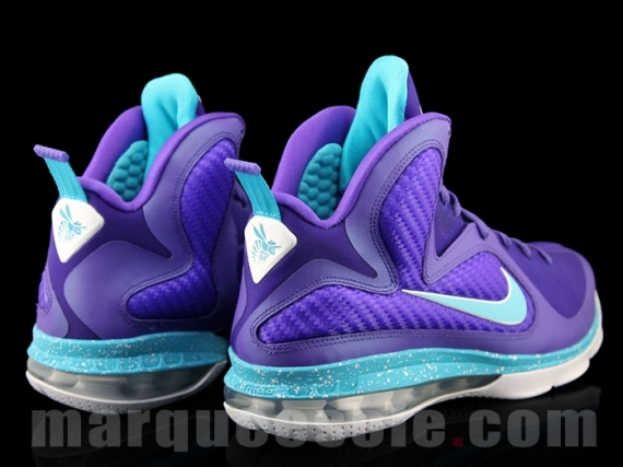 buy popular da488 e8a5d New Cheap Nike Lebron 9 Summit Lake Hornets Pure Purple Turquois
