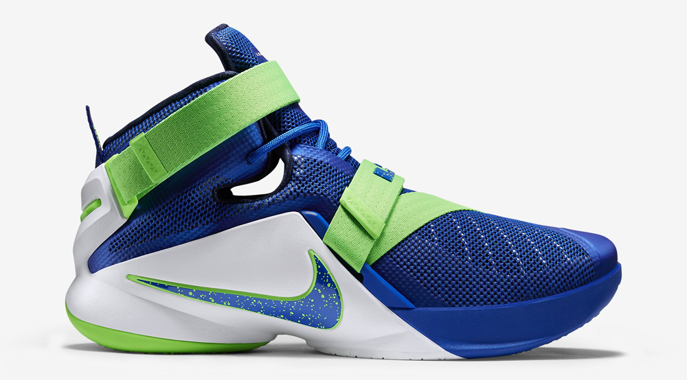 """153268392faf5 Nike LeBron Zoom Soldier 9 """"Sprite"""" - Air 23 - Air Jordan Release ..."""