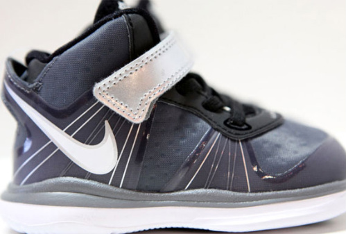 9e24fc0c1d0a ... love for Lebron with this new Cool Grey Nike Lebron VIII colorway. This  pair has a grey upper