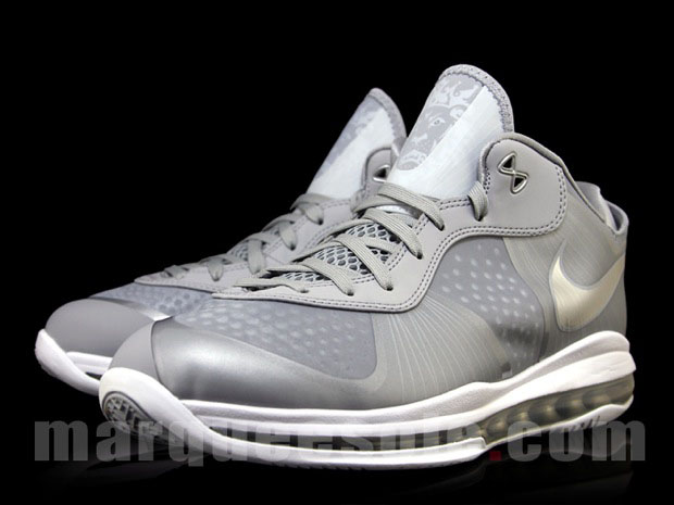 9c10890a3064 Nike Lebron 8 V2 Low Wolf Grey Metallic Silver - Air 23 - Air Jordan ...