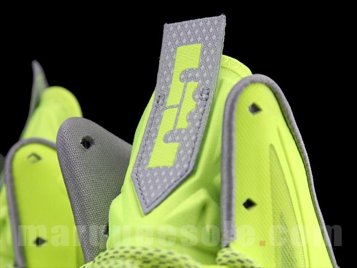 Nike LeBron 10 Volt Wolf Grey