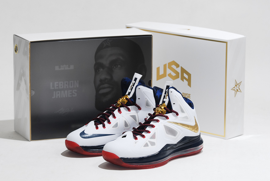 finest selection 80048 97c67 A very nice package that truly captures the spirit of Team USA, but is it  worth the  315 price tag  From Kenlu. Nike Zoom LeBron Soldier 10 Gold ...