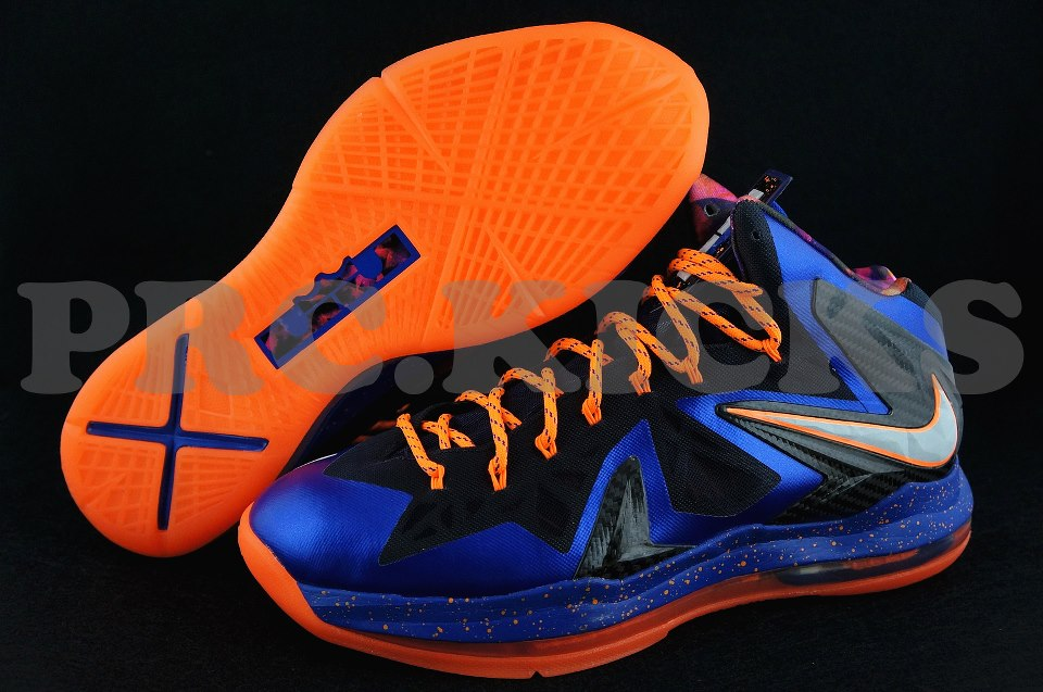 "Nike LeBron X (10) P.S. Elite ""knicks"" - First Look"