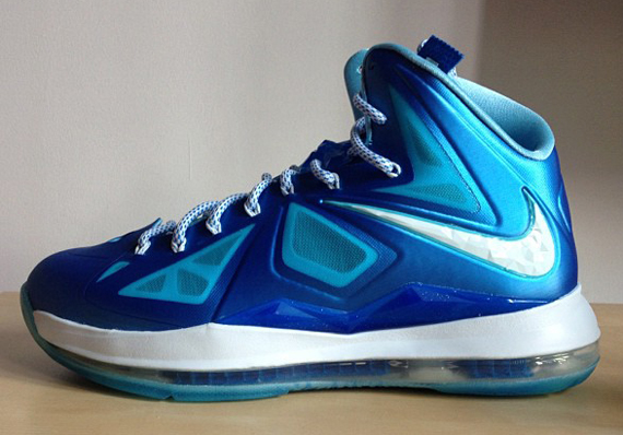 new style 74f02 8cdc5 Nike LeBron X+ Color  Photo Blue Wind Chill-Tidepool Blue Style   542244-400. Release  10 04 2012