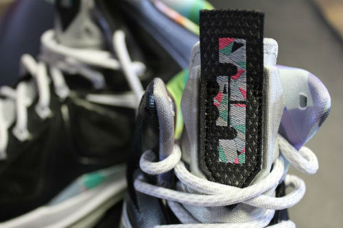 buy popular 9ade2 2aa85 ... while a prism print in typical Miami colors adds some color to the mid  foot area tongue logo, and sockliner. Expect to see these early next year,  ...