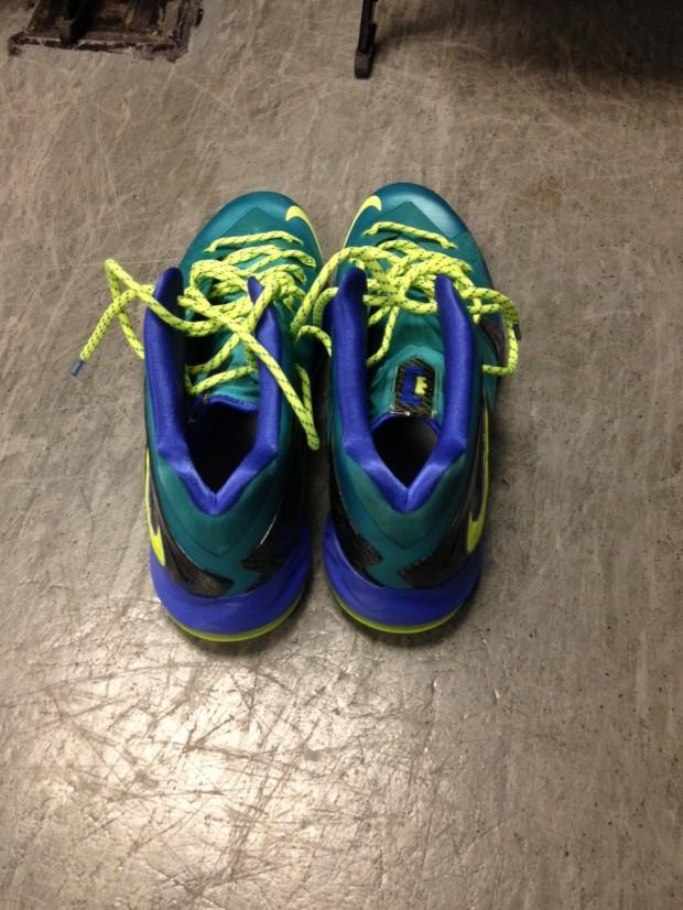 Nike LeBron X Elite - Turquoise/Volt  Lebron 10 Elite Turquoise