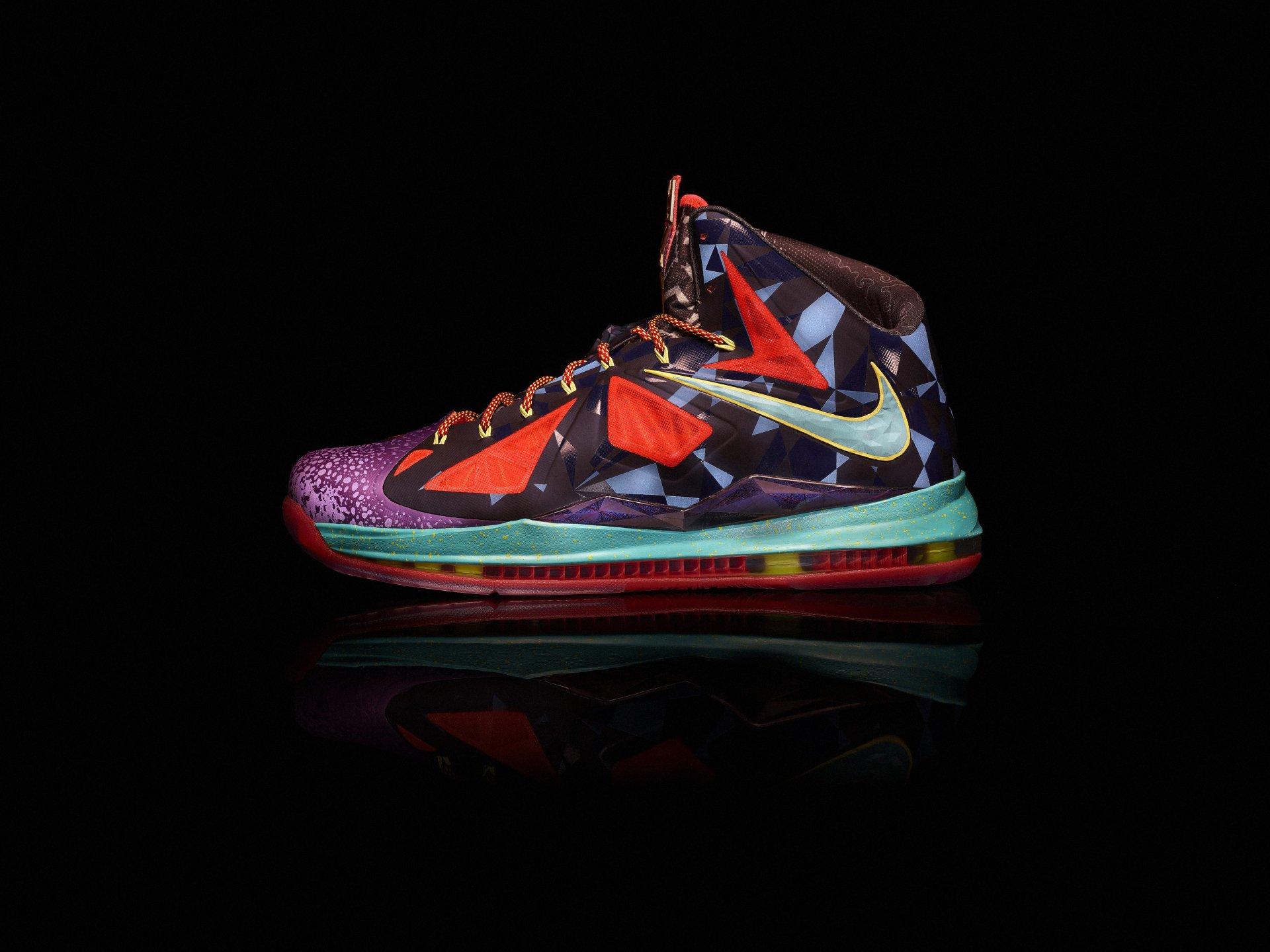 """Nike LeBron X (10) """"What the MVP"""" Lebron 10 Mvp Shoes"""