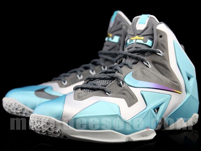 1864b6646dd Nike LeBron XI - Armory Slate Gamma Blue - Release Info