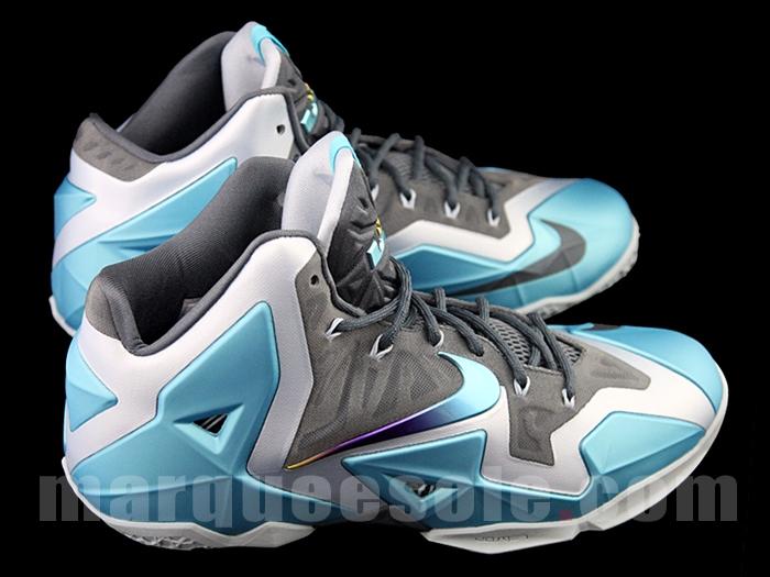 wholesale dealer 8828f 247c6 Nike LeBron 11 (XI) Color  Armory Slate Gamma Blue-Light Armory Blue Style   616175-401. Release  11 16 2013. Price   200.00