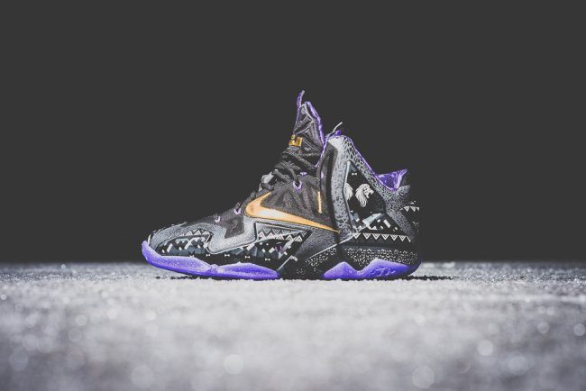 8ebcd276ea9 ... good nike lebron xi 11 color anthracite metallic gold purple venom  style 646702 001. release