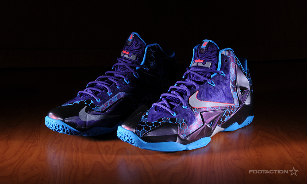 Lebron 11 Court Purple