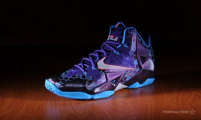 543713ade97e63 Nike Lebron Xi Purple Blue Silver Easter Jordans Coming Out