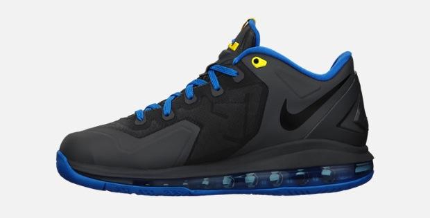 Nike Lebron Xi 11 Low Gs Dark Grey