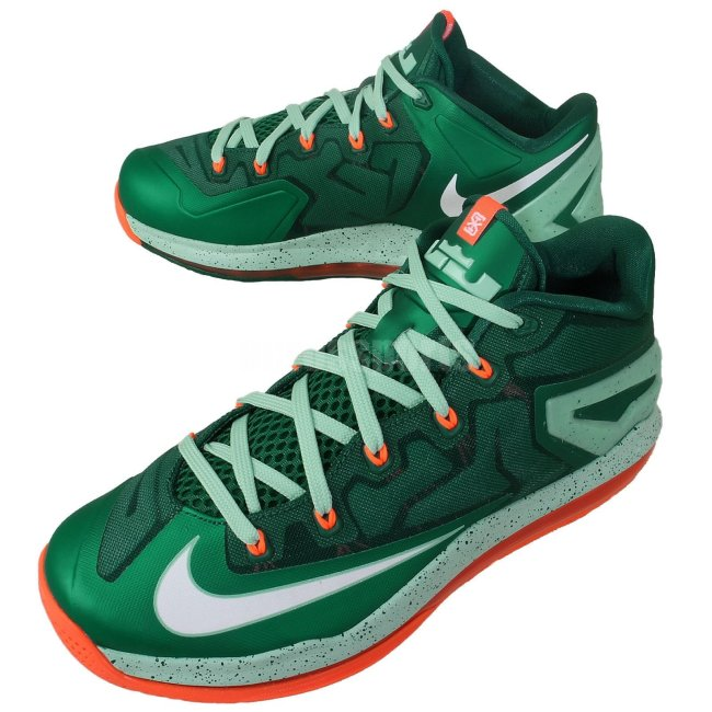 e10ffd85fec The Mystic Green Medium Mint-Hyper Crimson Nike LeBron XI Low will hit  stores on September 6
