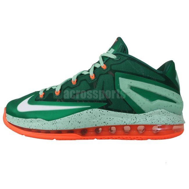 low priced 9955a ac6eb Nike LeBron 11 (XI) Low Color  Mystic Green White-Medium Mint-Hyper Crimson  Style  642849-313. Release  09 06 2014. Price   170.00