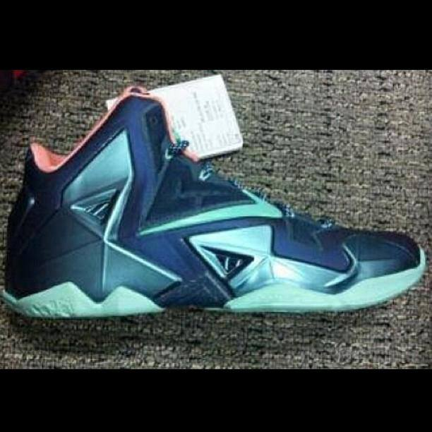 "timeless design eca2f 342c4 Nike Lebron XI 11 AS ""Gumbo"" League Gator King 647780-735 Size 10 No Box"