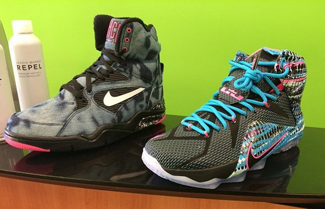 nike lebron 12 23 chromosomes first look and release date air 23 air jordan release dates foamposite air max and more - Christmas Lebron 12