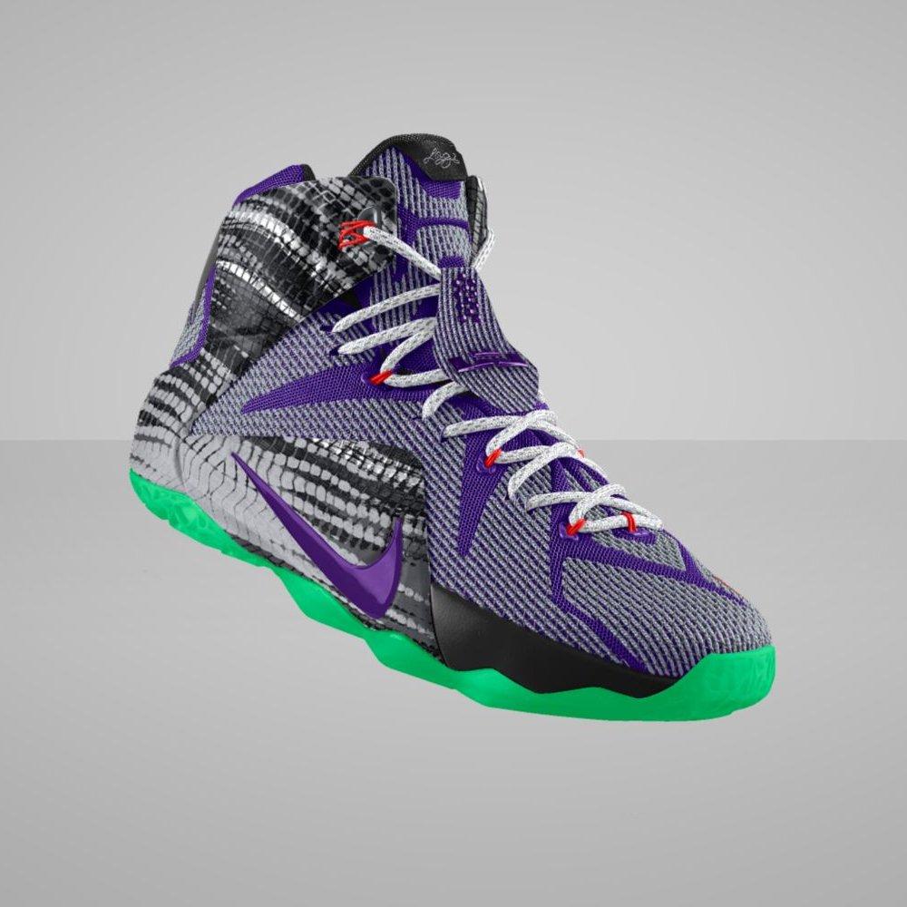 "Nike LeBron 12 ""23 Chromosomes"" Print Available on Nike iD ..."
