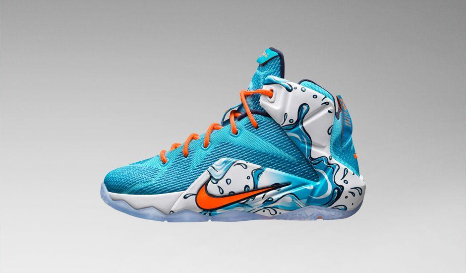 "Nike LeBron 12 GS ""Buckets"""
