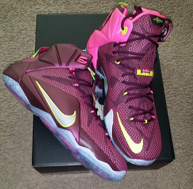 "brand new 53936 a33db Nike LeBron 12 ""Double Helix"""