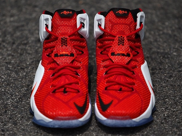 """online store d67a4 4fbbd The """"Heart of a Lion"""" Nike Lebron XII is scheduled to hit stores on October  30, retailing for  200. Nike LeBron 12 (XII) Color  Red White-Crimson-Black"""