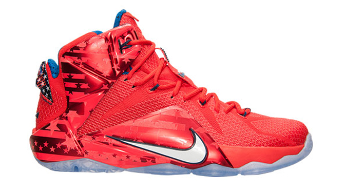 2562b6137d0 Nike LeBron 12 (XII) Color  Light Crimson White-Bright Crimson-Midnight  Navy Style  684593-616. Release  06 27 2015. Price   200.00