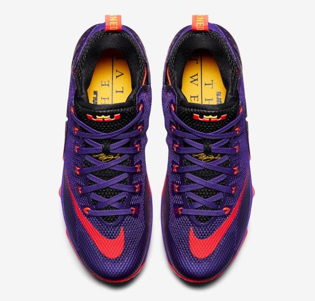 0bd8675ac91 Nike Lebron XV 15 Low Melon AO1755-005 Grey Black Basketball Men s Shoes