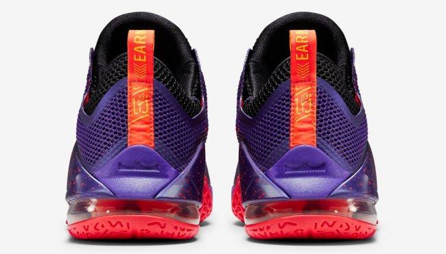 b0cd1c38da392 Nike Lebron XV 15 Low Melon AO1755-005 Grey Black Basketball Men s Shoes
