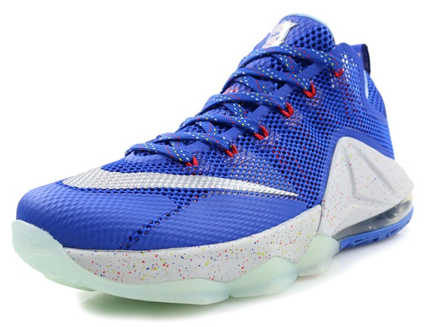 4b49d71a75 Nike LeBron 12 (XII) Low LTD Color: Hyper Cobalt/Metallic Silver-Light  Crimson Style: 812560-406. Release Date: Fall 2015