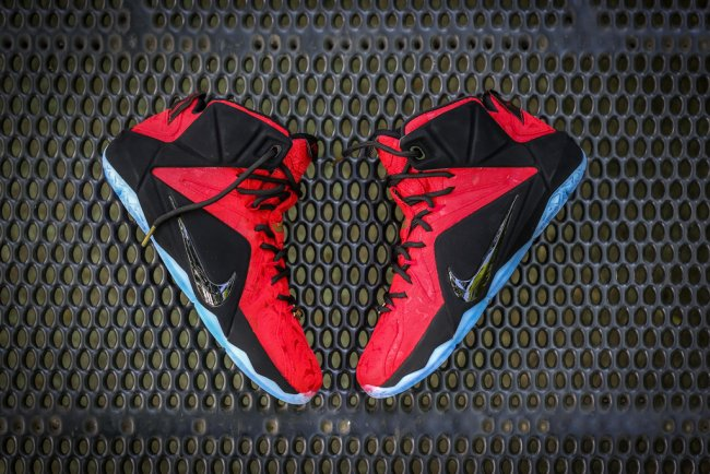 promo code 2d75f 8cfef Nike LeBron 12 (XII) Color  University Red University Red-Black-Metallic  Gold Style  748861-600. Release  06 27 2015. Price   250.00