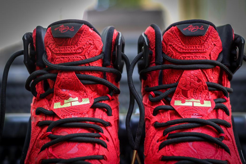 new concept d4cf9 3d11b Nike LeBron 12 EXT