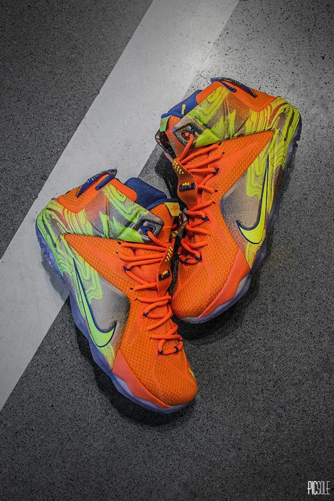"best sneakers bb516 e0c16 Nike LeBron 12 ""Six Meridians"""