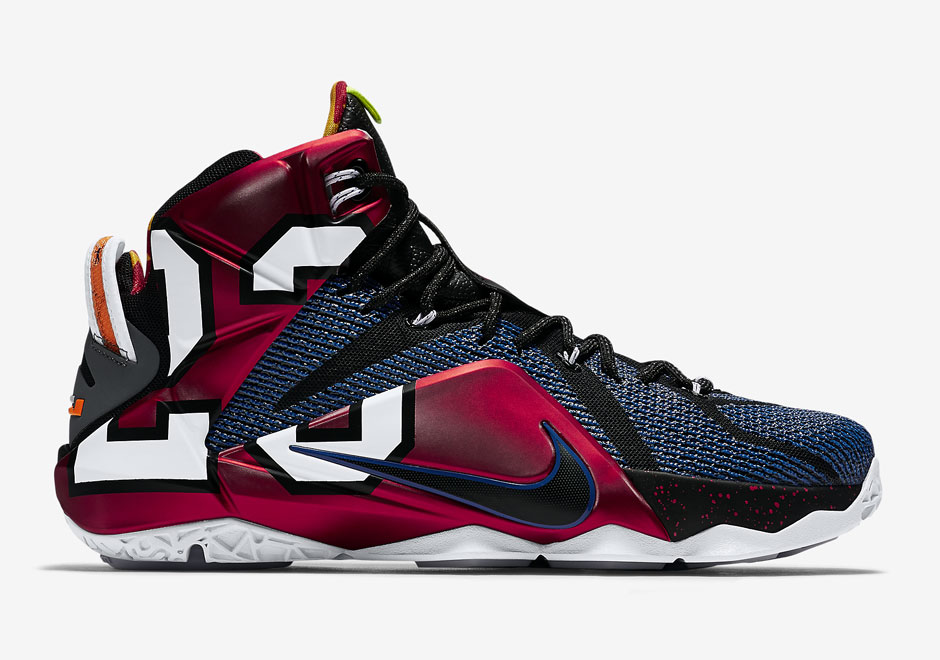 "Nike LeBron 12 ""What The"" Official Images, Release Date ..."