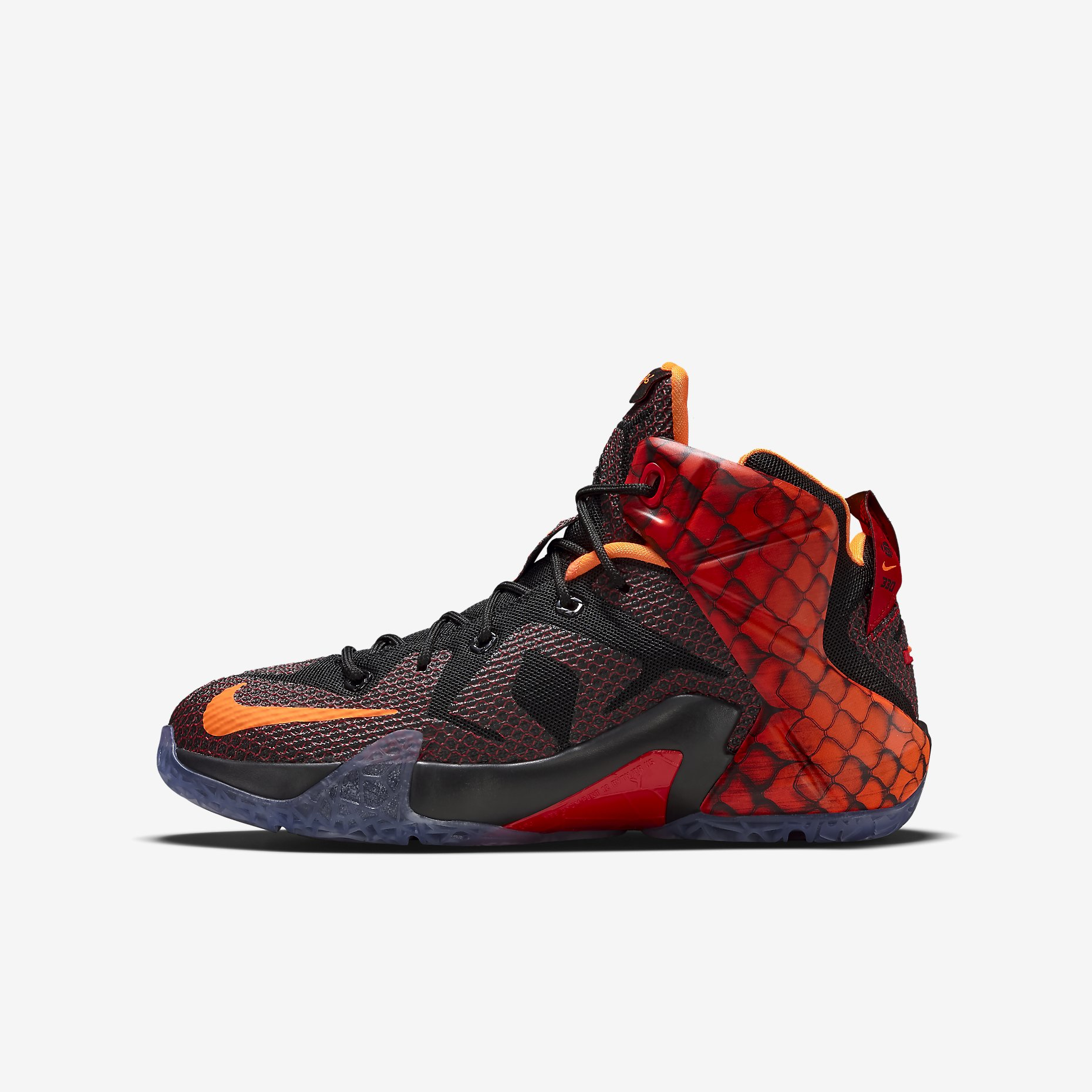 a05e860e57cc ... italy nike lebron 12 xii gs young dragons black kids youth james 685181  010 160 c99a9
