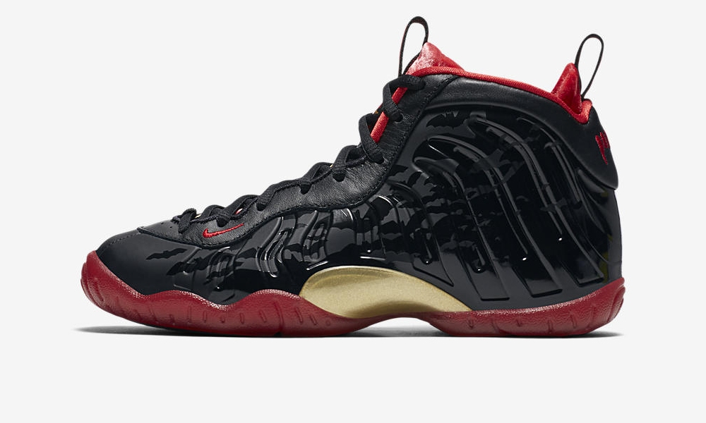 d9ffc6a05eb08 Nike Little Posite One Color  Black University Red-Metallic Gold Style  Code  846077-003. Release Date  10 13 2017. Price   180.00