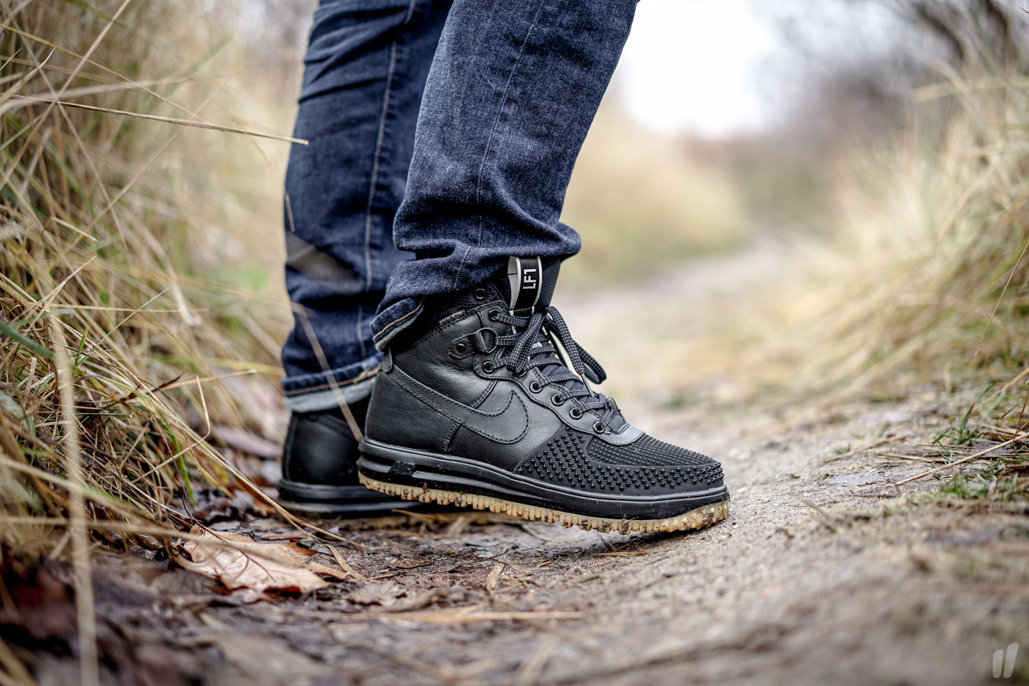 8a31055487c6 Nike Lunar Force 1 Duckboot Black Metallic Silver - Air 23 - Air ...