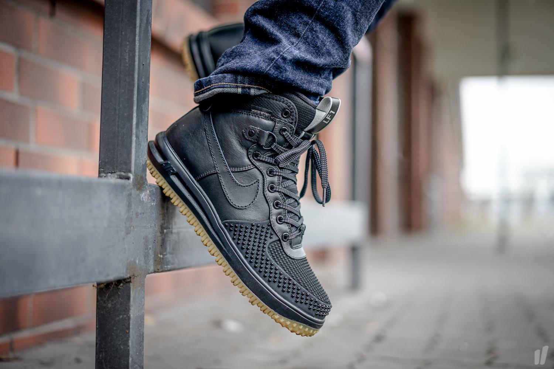 Nike Lunar Force 1 Duckboot Black Metallic Silver - Air 23 - Air Jordan Release  Dates 48b2ab8ef5a1