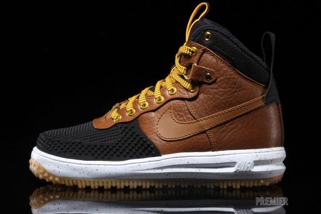 Nike Lunaire Vigueur 1 Botte De Canard De Couleur Tan Britannique