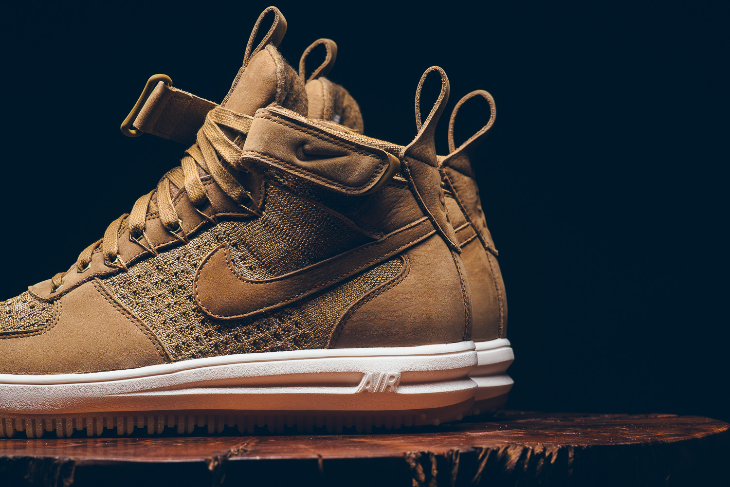 959402e231fb Nike Lunar Force 1 Flyknit Workboot Color  Golden Beige Sail-Olive Flak  Style  855984-200. Release Date  11 03 2016. Price   200.00