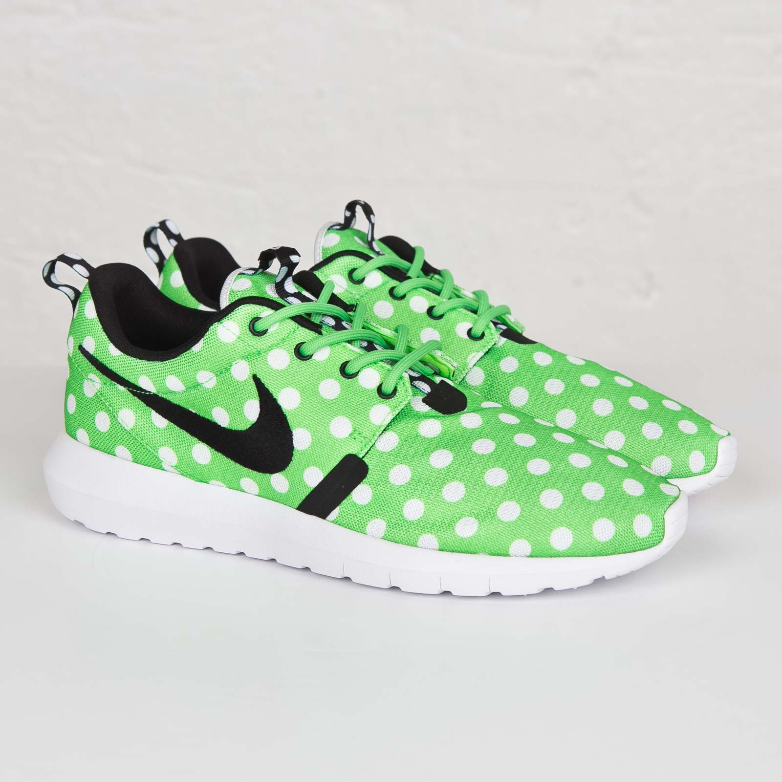 reputable site f3a26 a7a39 Nike Roshe Run NM QS Color  Green Strike Black-White Style  810857-300.  Price   110.00