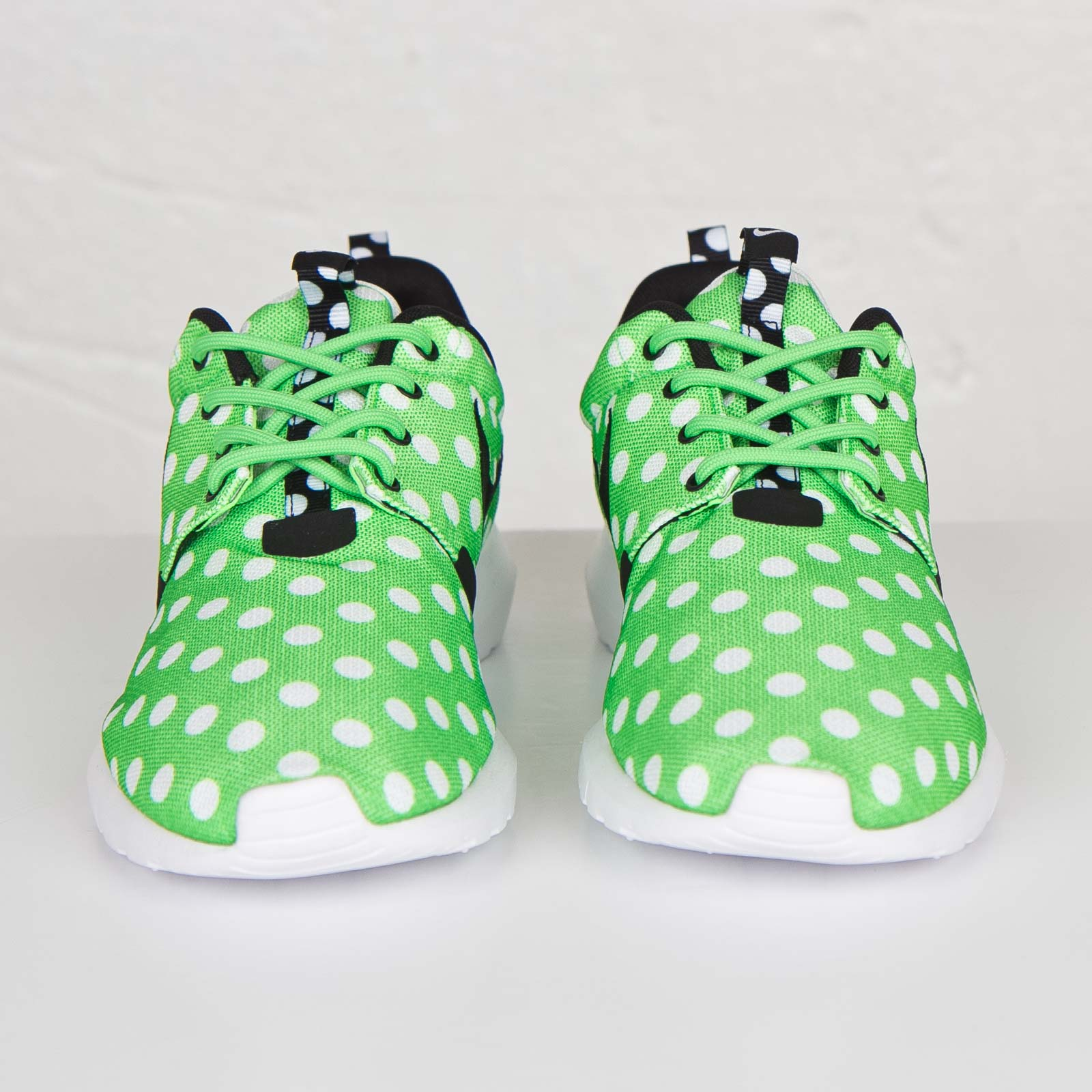reputable site d9f60 404a1 Nike Roshe Run NM QS Color  Green Strike Black-White Style  810857-300.  Price   110.00