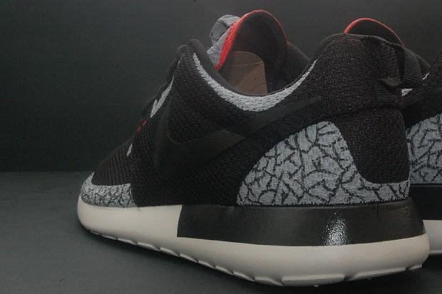 b14bf46919bb1 511881-010 Black Nike Roshe Run One Men s Shoes 511881-601 Sport Red
