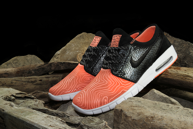 Premier x nike sb fish ladder dunk low and janoski max for Fish nike shoes