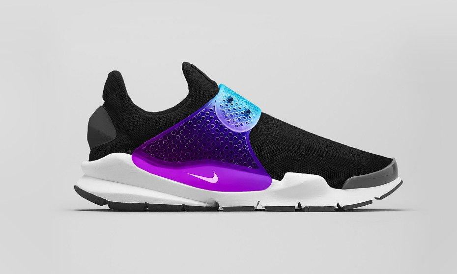 Black Nike Sock Dart